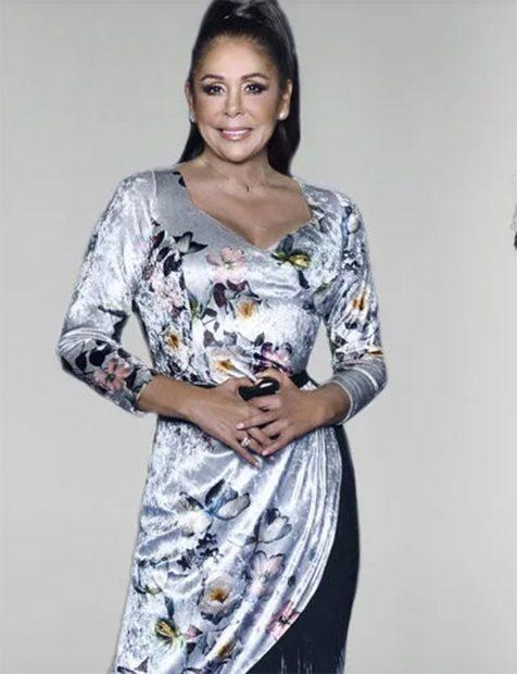 Isabel Pantoja en una imagen promocional del talent sho 'Top Star: ¿cuánto vale tu voz?./Mediaset