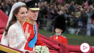 Los duques de Cambridge el día de su boda / Gtres
