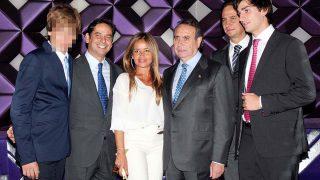 Pedro Trapote y su familia/Gtres