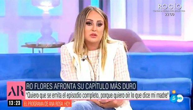 Rocío Flores / Telecinco