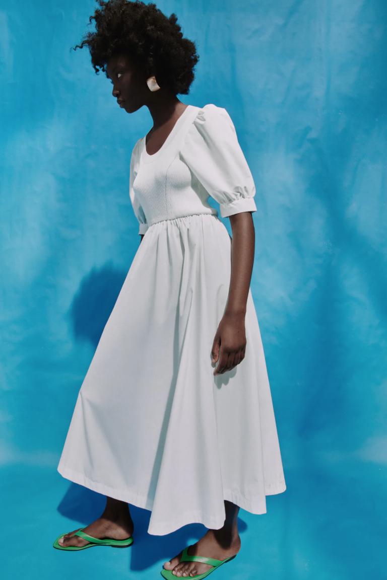 Esta es la versión low cost de Lefties del vestido blanco de Sara Carbonero