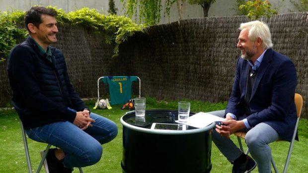 Iker Casillas, Santiago Cañizares