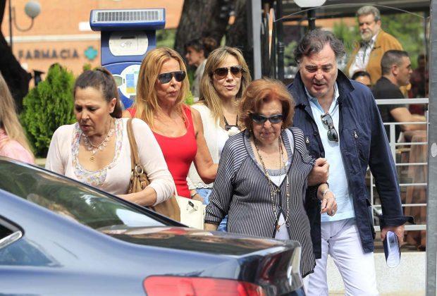 La familia García Obregón siempre ha sido una piña./Gtres
