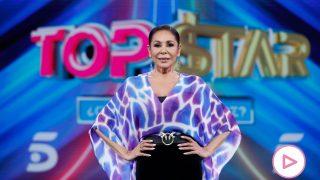 Isabel Pantoja, durante la presentación de 'Top Star' / Gtres