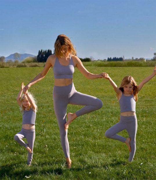 Nueva línea deportiva para niñas de Oysho./Oysho