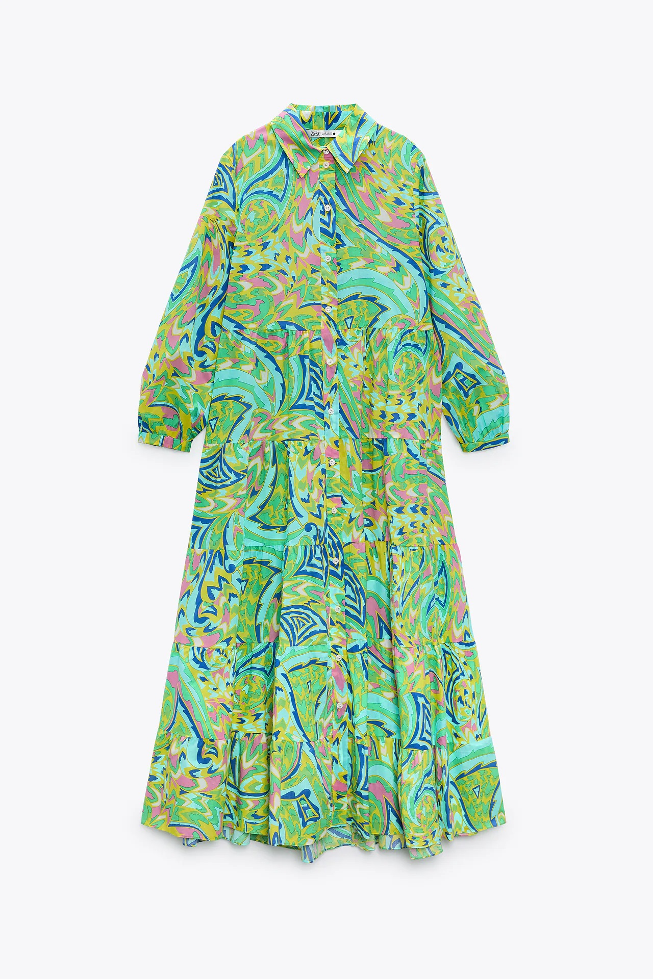 Zara tira la casa por la ventana, vende el vestido de la primavera con bolso incluido