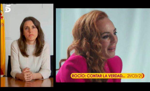 Irene Montero, Rocío Carrasco