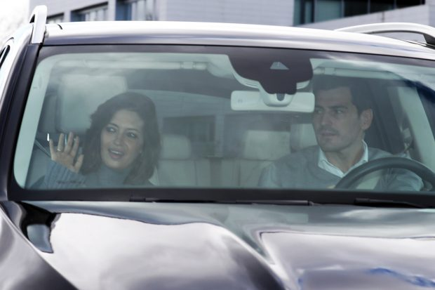 Iker Casillas y Sara Carbonero en una imagen de archivo./Gtres