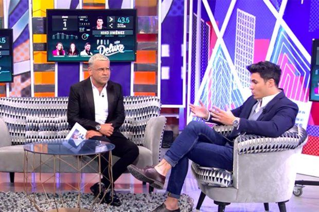 Jorge Javier Vázquez y Kiko Jiménez en 'Sábado Deluxe'./Telecinco
