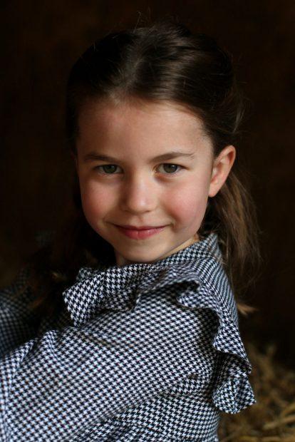 La princesa Charlotte en una imagen de archivo./Gtres