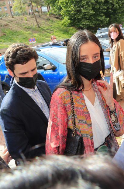 Victoria Federica y Juan Froilán disfrutan juntos del Día de la Madre./Gtres