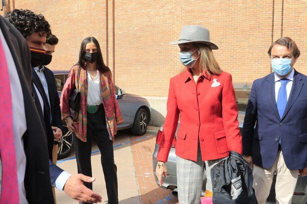 Victoria Federica, Froilán y la infana Elena en la Plaza de Toros de Las Ventas./Gtres
