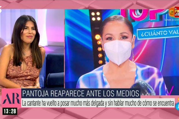 Isa Pantoja en 'El programa de Ana Rosa'./Telecinco
