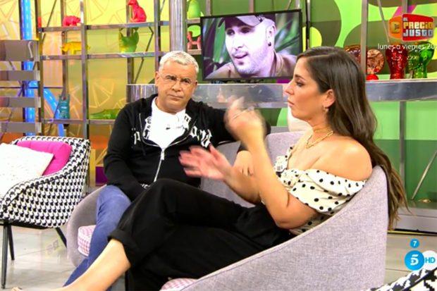 Anabel Pantoja no ha querido dar muchos detalles sobre el enfriamiento de su relación con el DJ./Telecinco