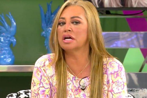 Belén Esteban ha hecho un llamamiento para que vacunen a las personas que son factor de riesgo./Telecinco