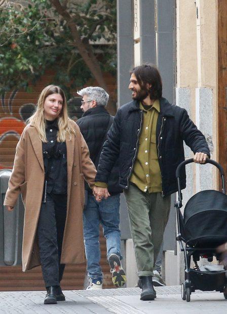 Miriam Giovanelli y Xabi Ortega en una imagen de archivo./Gtres