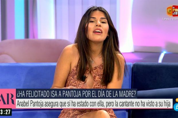 Isa Pantoja no ha pasado el Día de la Madre con Isabel Pantoja./Telecinco
