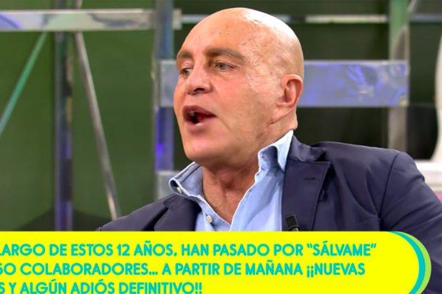 Kiko Matamoros ha criticado el calendaria de vacunación al tener 64 años y no haber sido vacunado./Telecinco