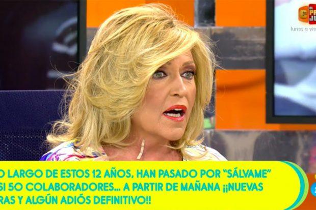 Lydia Lozano será vacunada durante la jornada del martes./Telecinco