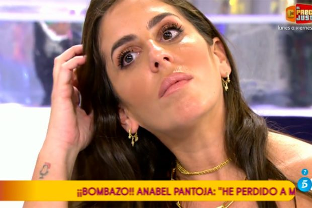 Anabel Pantoja ha roto a llorar al hablar de Kiko Rivera./Telecinco