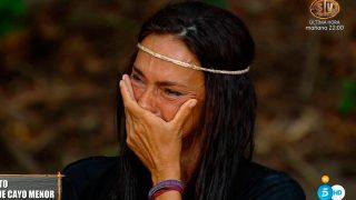 Olga Moreno, emocionada tras leer la carta de su hija / Telecinco