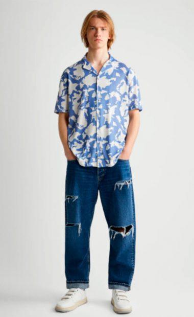Camisa manga corta relaxed fit de Zara: 25,95 euros / Zara