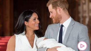 Los duques de Sussex el día de la presentación de su hijo Archie  / Gtres