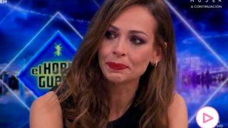 Eva González llorando en 'El Hormiguero'/Atresmedia