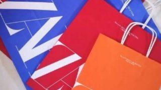 Las nuevas bolsas y cajas de colores de Zara revolucionan las compras
