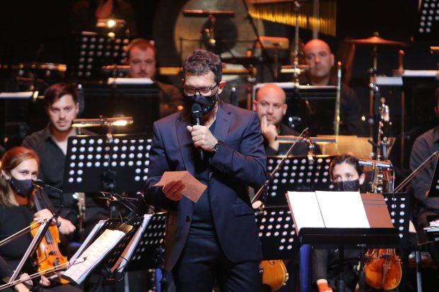 Antonio Banderas en la presentación del espectáculo 'El mayo aplauso'./Gtres