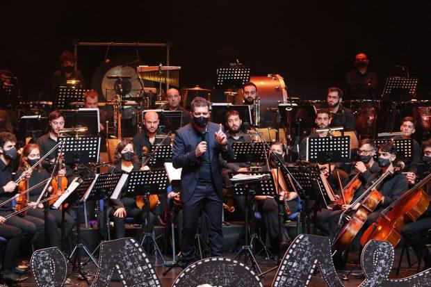 Antonio Banderas en el Teatro Soho de Málaga./Gtres