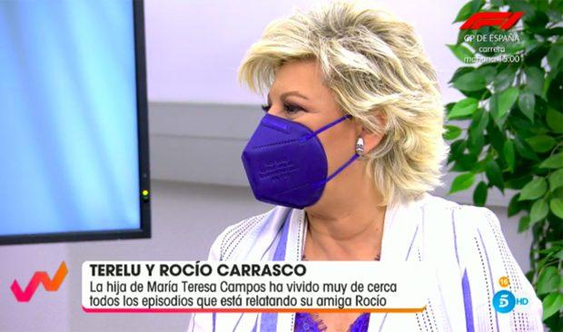 Terelu Campos ha hablado sobre cómo ve a Rocío Carrasco tras la emisión de la mitad de documental./Gtres