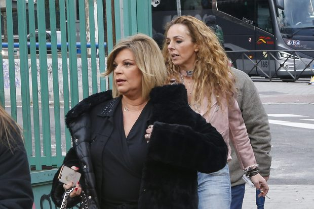 Rocío Carrasco junto a Terelu Campos en una imagen de archivo./Gtres