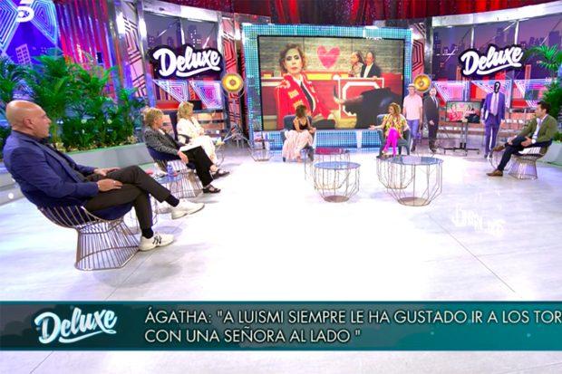 Ágatha Ruiz de la Prada en 'Sábado Deluxe'./Telecinco