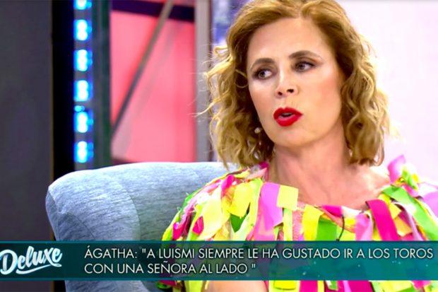 Ágatha Ruiz de la Prada ha sido la última invitada a 'Sábado Deluxe'./Telecinco