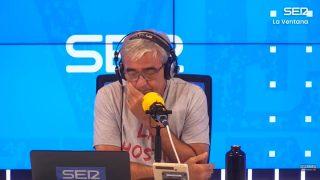 Carles Francino, emocionado en su vuelta al trabajo / Gtres