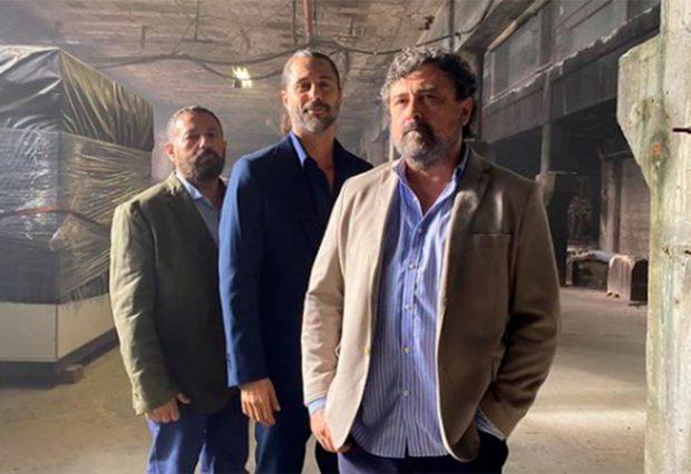 Pepón Nieto, Hugo Silva, Paco Tous