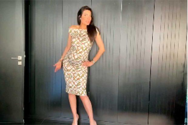 Así le ha quedado el vestido a Pilar Rubio / Instagram