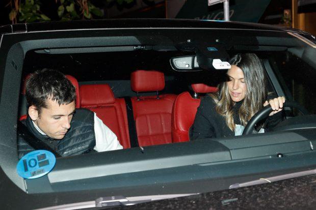 Laura Matamoros y Benji Aparicio