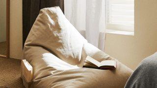El puff de algodón de Zara Home para amantes de la lectura