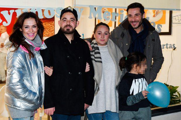 David Flores, Rocío Flores, Antonio David Flores, Olga Moreno