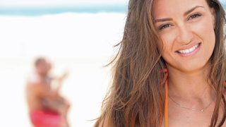 Una mujer en la playa / Gtres