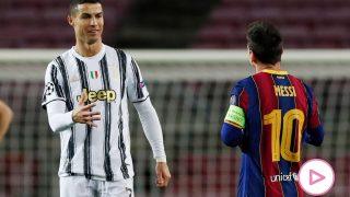 Leo Messi y Cristiano Ronaldo / Gtres