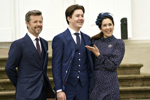 Lejos de ser una ceremonia multitudinaria, la confirmación de Christian de Dinamarca ha estado marcada por las restricciones sanitarias./Gtres