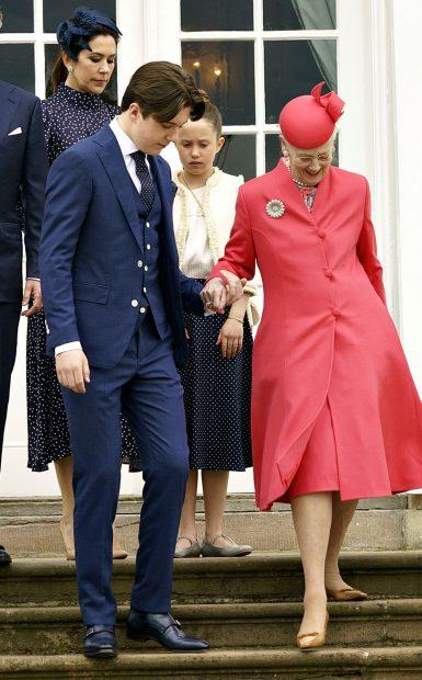 La reina Margarina y Christian de Dinamarca/Gtres