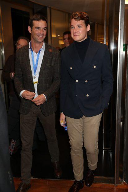 José Bono y Aitor Gómez en una imagen de archivo./Gtres