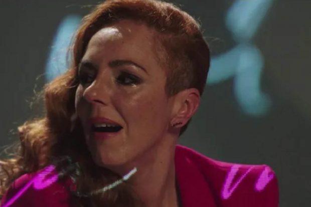 Rocío Carrasco rota de dolor al narrar su testimonio./Telecinco