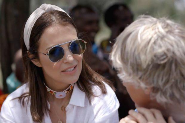 La actriz ha contado cómo se enamoró de su actual pareja, Miguel Torres./Cuatro
