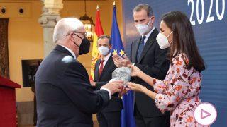 La Reina Letizia durante la entrega de premios / Casa de S.M. el Rey