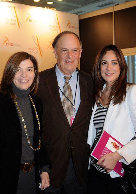 Carlos Falcó y sus hijas Xandra Falcó y Tamara Falcó
